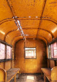 Interior Of Old Train Royalty Free Stock Photo
