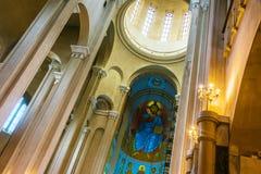 Free Interior Of Sameba, The Holy Trinity Cathedral Of Tbilisi, Georgia Royalty Free Stock Photos - 131484578