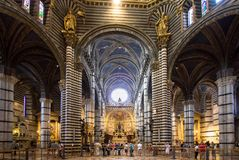 Free Interior Of Siena Cathedral In Tuscany, Italy Stock Photos - 99620383