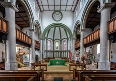 Free Interior Of St Pauls Church In Honiton, Devon, UK Stock Images - 164159804