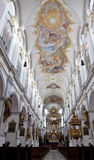 Interior Of St. Peter&x27;s Cathedral In Munich Stock Images