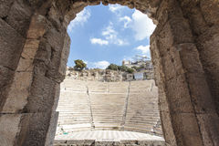 Free Interior Of The Ancient Greek Theater Odeon Of Herodes Atticus In Athens, Greece Royalty Free Stock Image - 55368286