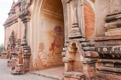 Free Interior Of The Ancient Temples In Bagan, Myanmar Royalty Free Stock Photos - 110865208