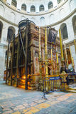 Interior Of The Church Of Holy Sepulcher Royalty Free Stock Images