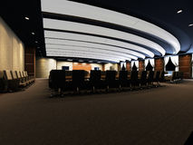 Interior Of The Conference Hall Stock Image