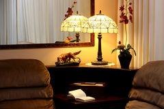 Free Interior Of The House With A Lamp Royalty Free Stock Photo - 12305635