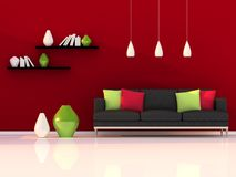 Interior Of The Modern Room Royalty Free Stock Images