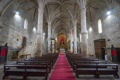 Free Interior Of The Parish Church Of The Locality Of Freixo De Espada à Cinta.  Portugal Stock Photo - 215097630