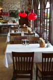 Interior Of The Restaurant Royalty Free Stock Photography