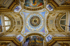 Free Interior Of The Saint Isaac Cathedral. St.Petersburg, Russia Stock Photo - 96828850