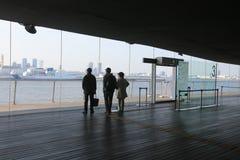 Interior Of Yokohama Port Terminal Royalty Free Stock Images