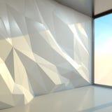 Interior office. 3d rendering image Vector Illustration