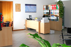 Interior of office Stock Photo