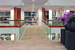Interior office building Stock Photography