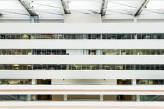 Interior office building Stock Image