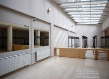 Interior of office lobby. Interior of an empty office lobby Royalty Free Stock Images