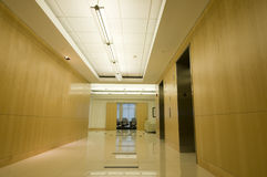 Interior of Office Lobby Royalty Free Stock Images