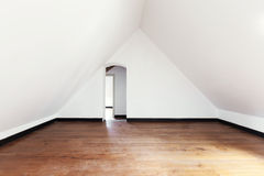 Interior, old attic Royalty Free Stock Image