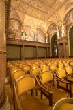 Interior of an old auditorium Royalty Free Stock Photo
