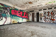 Interior old building Royalty Free Stock Images