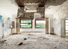 Interior old building Royalty Free Stock Photos