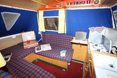 Interior of the old Camper Stock Photo