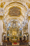Interior of Old Chapel, Regensburg, Germany Royalty Free Stock Photos
