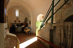 Interior of an old church Royalty Free Stock Photography