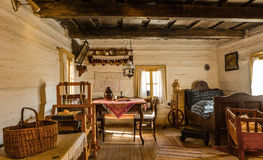 Interior of old cottage Royalty Free Stock Photography