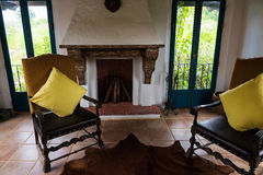 interior of old country house Royalty Free Stock Photo