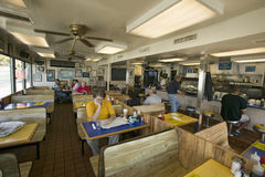 Interior of old diner in Arlington Virginia, Royalty Free Stock Photography