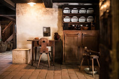 Interior of Old drug store at Ballenberg Open air Museum, Brienz Royalty Free Stock Photography