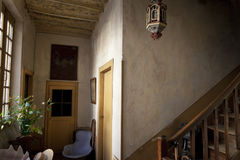 Interior of an old house Royalty Free Stock Photos