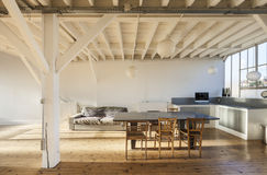 Interior old loft Royalty Free Stock Image