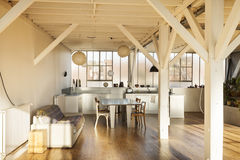 Interior old loft Stock Photography