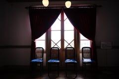 Interior of Old Mikasa Hotel Stock Photo