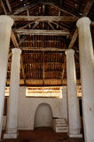 Interior of The Old Mosque of Pengkalan Kakap in Merbok, Kedah Stock Photo