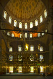 Interior of old mosque Royalty Free Stock Photography