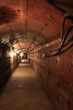 Interior of old soviet bunker Royalty Free Stock Image