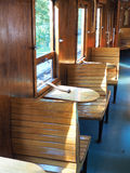 Interior of  old train carriage Royalty Free Stock Photography
