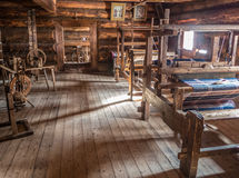 Interior of old village Stock Photography