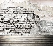 Interior old wall. 3d rendering Stock Images