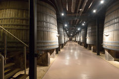 Interior  of old winery Stock Photography