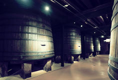 Interior of  old winery Royalty Free Stock Image