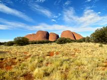 Interior Olgas de Austrália Fotografia de Stock