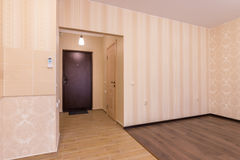 Interior one-bedroom apartments Stock Photo