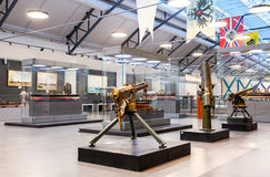 Interior of one of the halls of the Navy Museum in St. Petersbur Royalty Free Stock Image