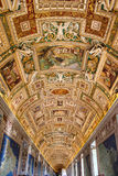 The interior of one of the rooms of the Vatican Museum Royalty Free Stock Photos