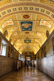 The interior of one of the rooms of the Vatican Museum Royalty Free Stock Photo