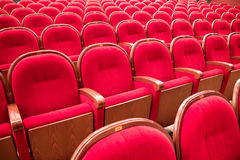 Interior of opera and ballet theater Royalty Free Stock Images